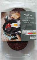 Black pudding slices - Product - en