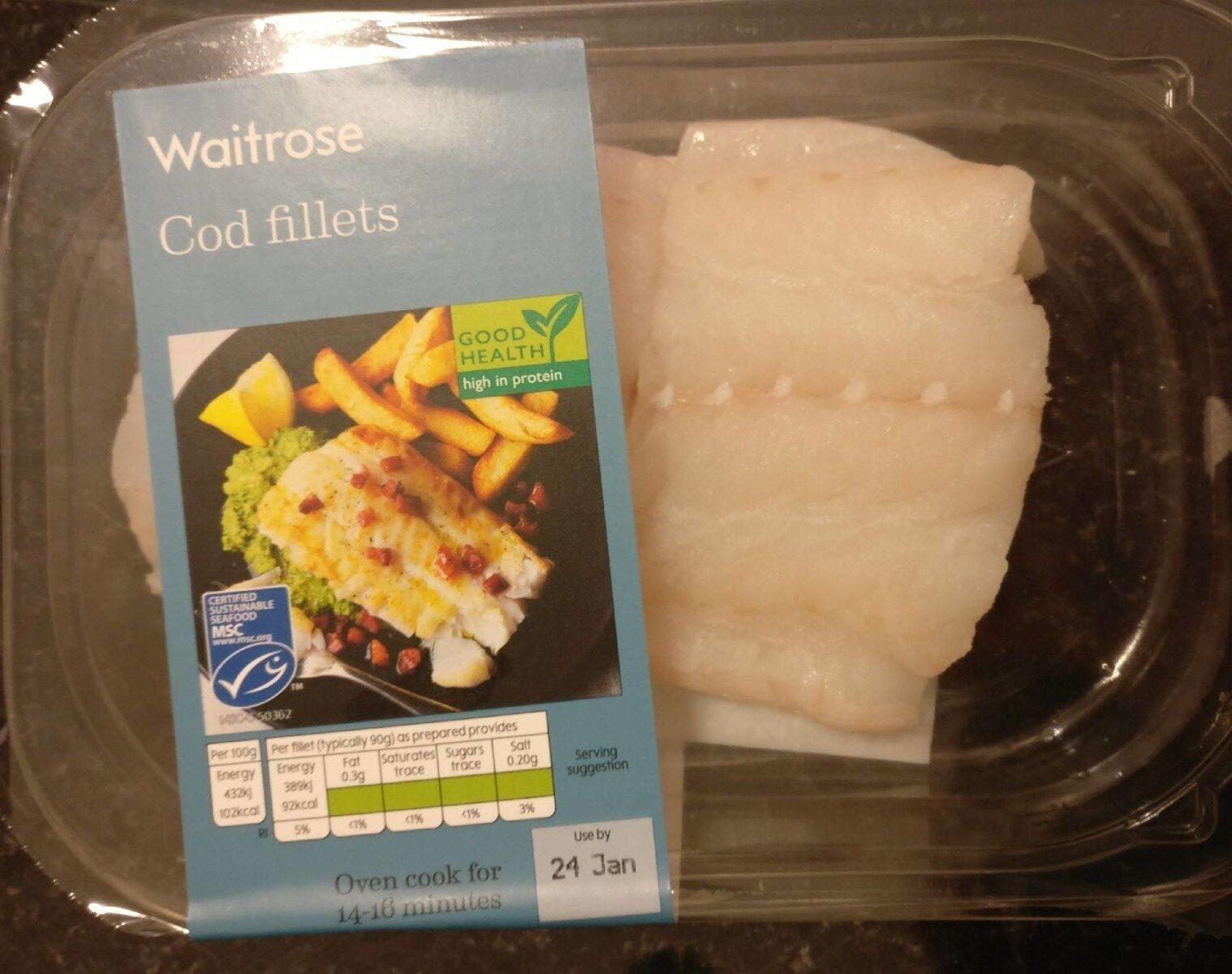 Cod fillets - Produit - en