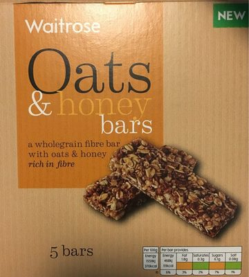 Oats & honey bars - Product