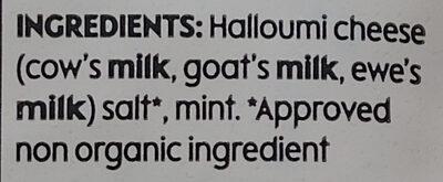 Halloumi - Ingredients - en