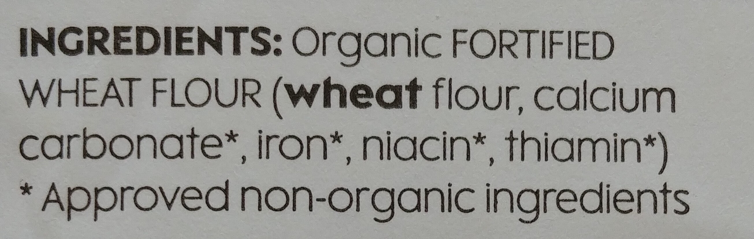 Strong white bread flour - Ingredients - en