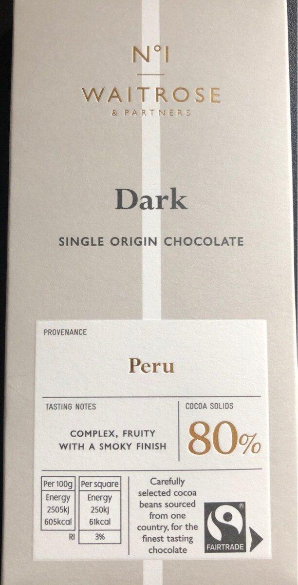 Dark Peru 80% - Product