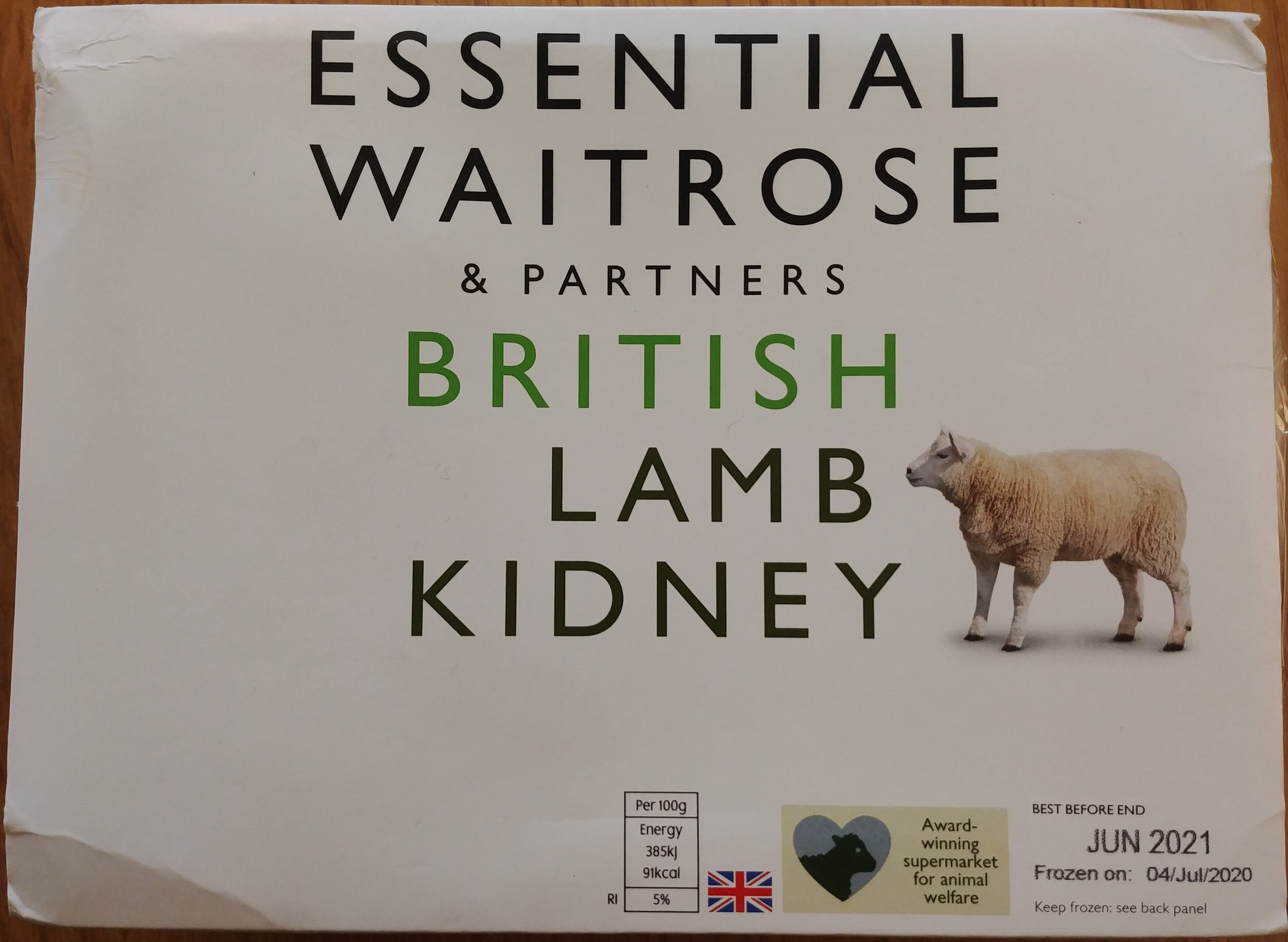 Lamb Kidneys - Product - en