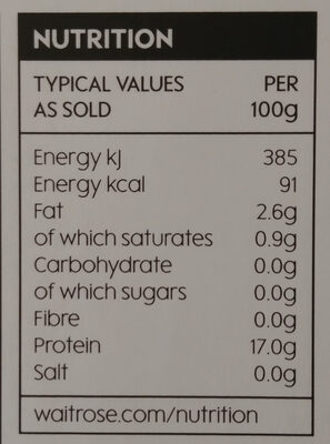 Lamb Kidneys - Nutrition facts - en