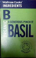 Organic Basil - Produit