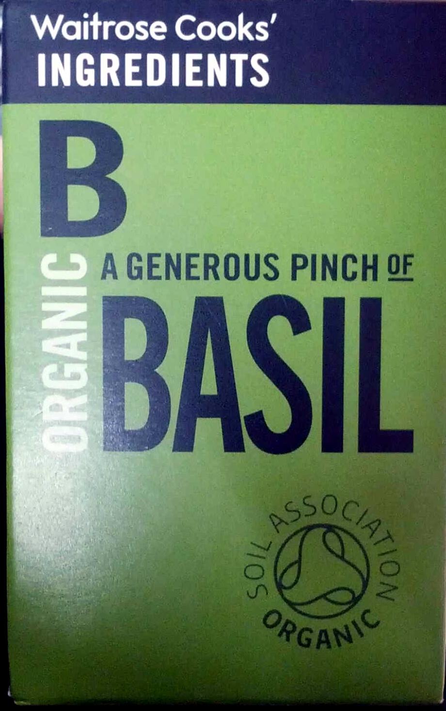 Organic Basil - Produit - en