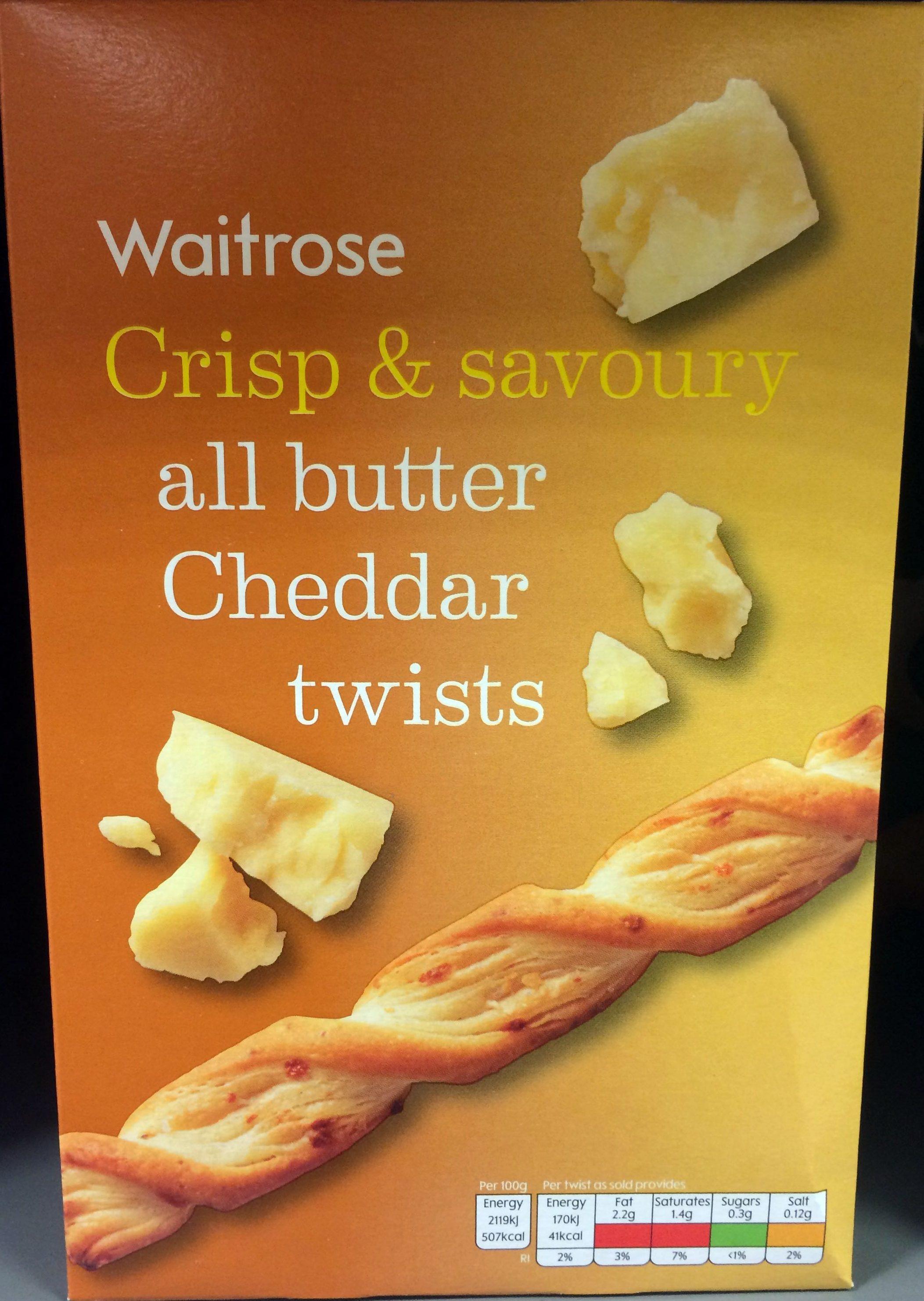 Cheddar Twists - Product - en