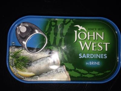 Sardines in brine - Product