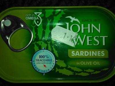 Sardine in olive oil - Product