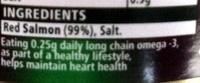 Red Salmon - Ingredients - en