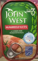 John West Makrel Filets - Product
