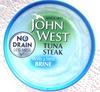 tuna steak with a little brine - Prodotto