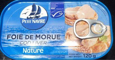 Foie de morue nature - Produit - fr