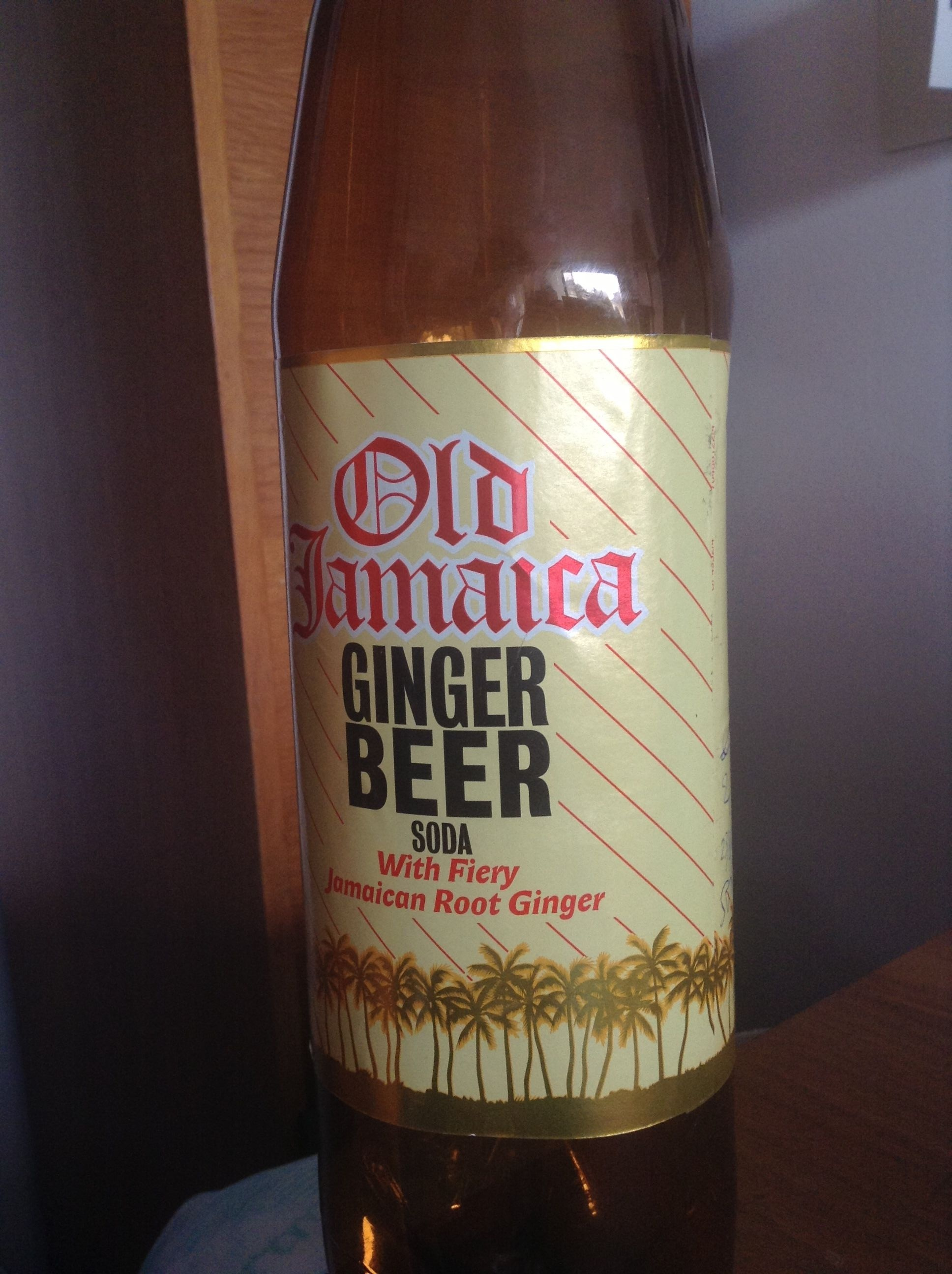 Finger Beer Soda with Fiery Jamaican Root Ginger - Product