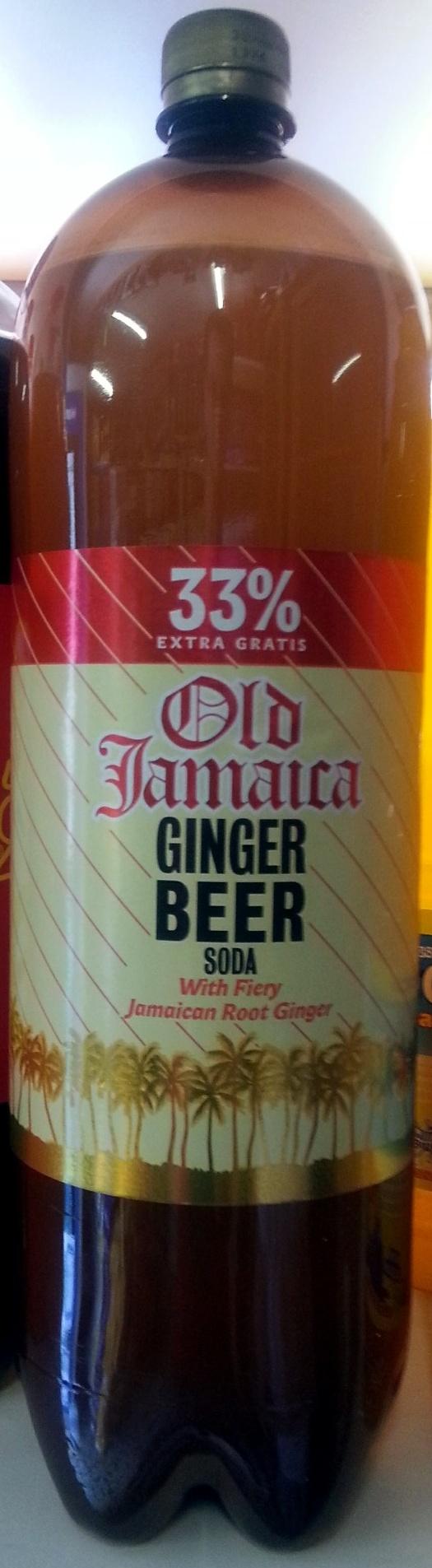 Old Jamaica Ginger Beer - Produit