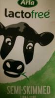 lactofree semi skimmed milk - Product - en