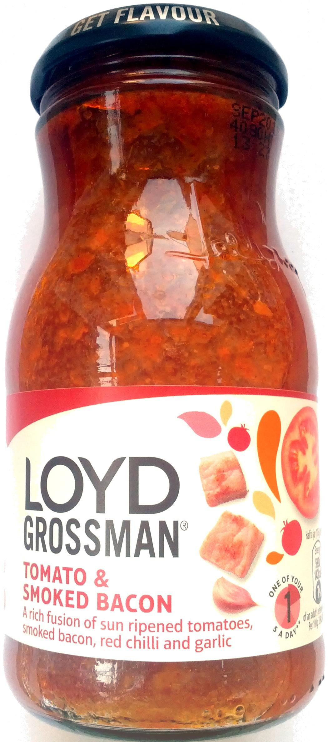 Tomato & Smoked Bacon Sauce - Product