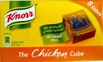The chicken cube (8 cubes) - Produit
