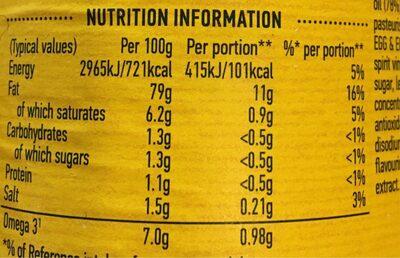Real Mayonnaise - Voedingswaarden - en