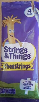 Cheesestrings 4 pack - Prodotto - en