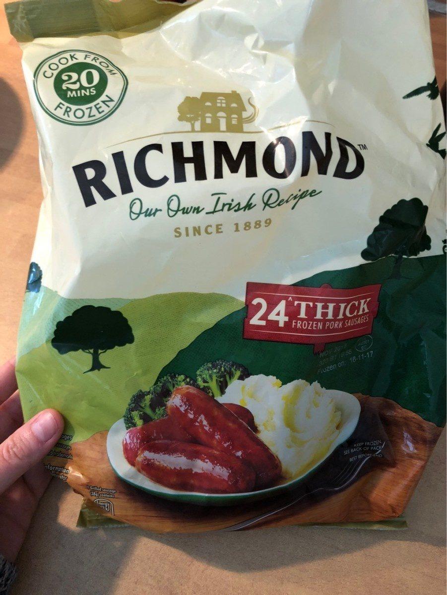 English thick sausage - Product - fr