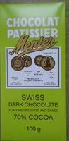Menier Swiss Dark Chocolate - Product - en