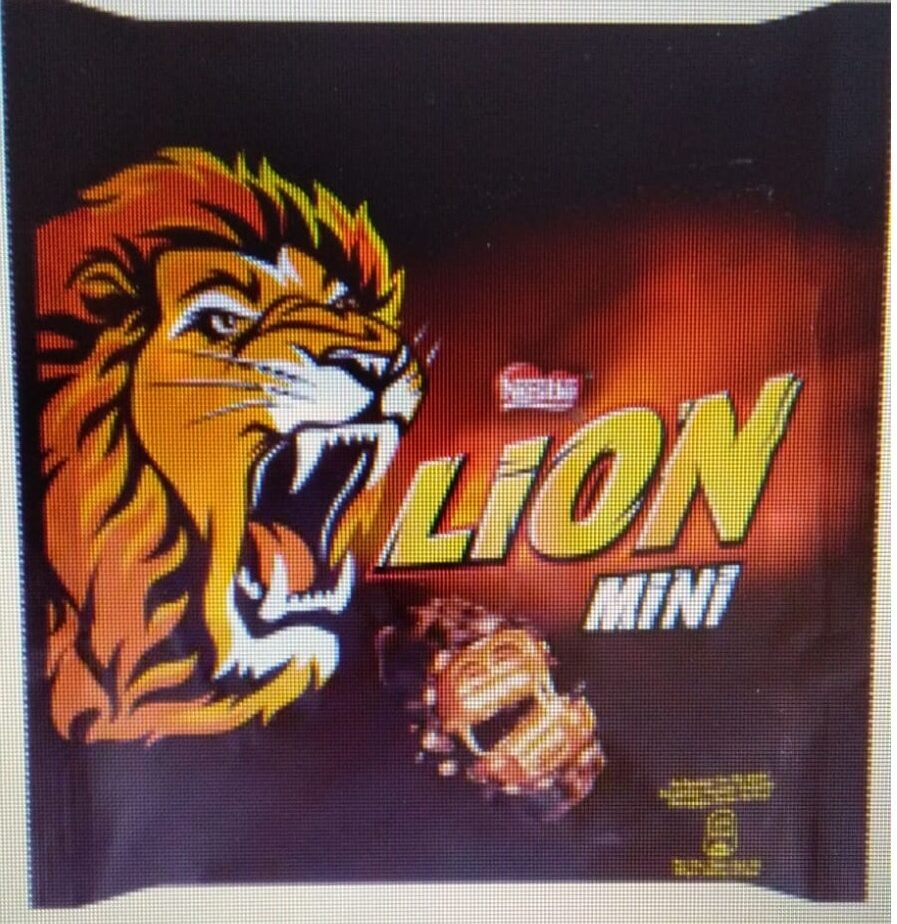 Nestlé Barretes Lion Mini - Product - nl