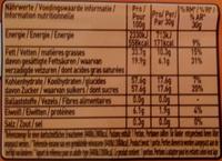 Caramac Caramel - Valori nutrizionali - de