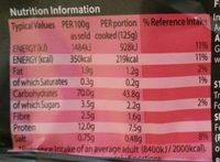 Fine Egg Noodles - Nutrition facts - en