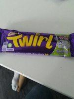 Cadbury Twirl - Produit