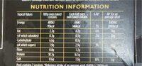Fish bakes - Voedingswaarden - en