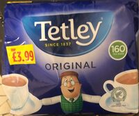 Tetley black tea - Product