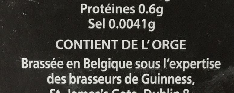 Original - Ingredienti - fr