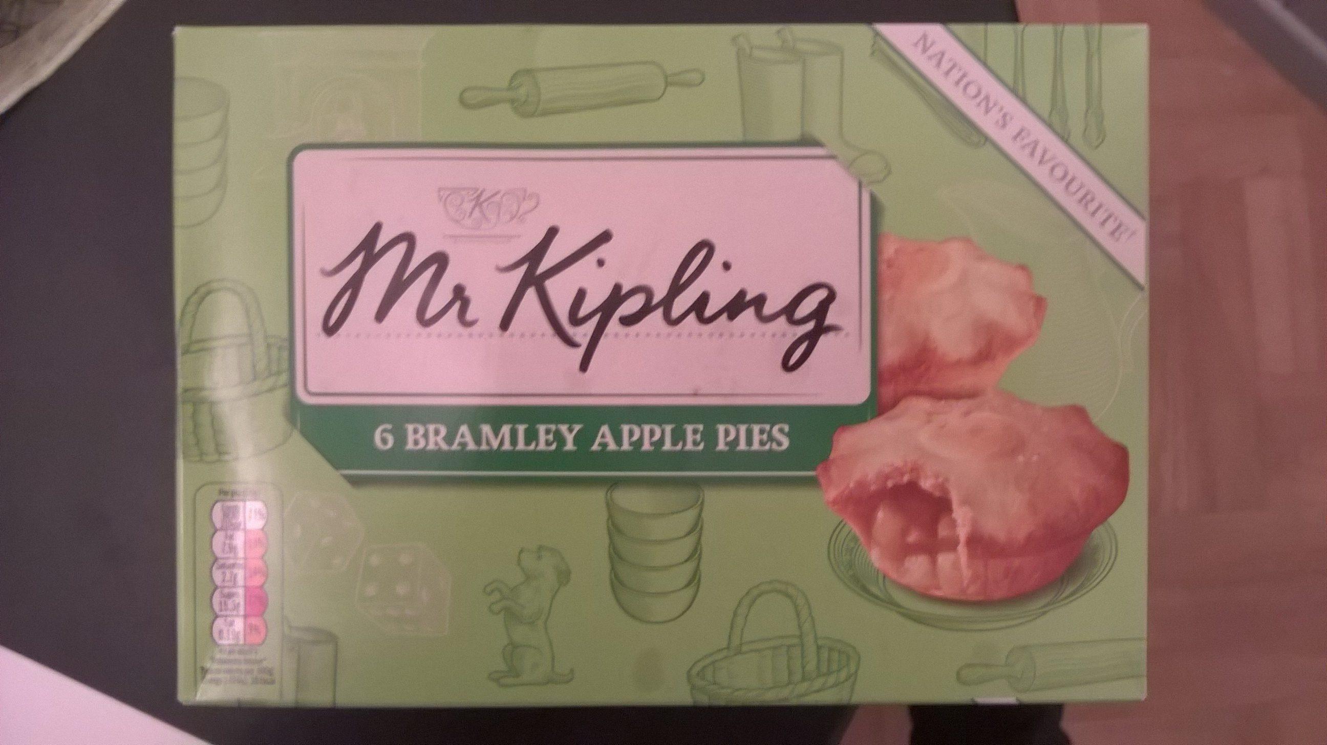 6 Bramley apple Pies - Produit - fr