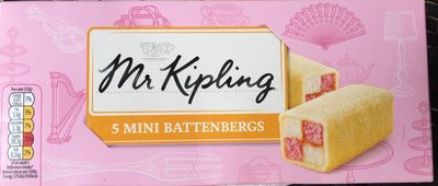 5 Mini Battenbergs - Product