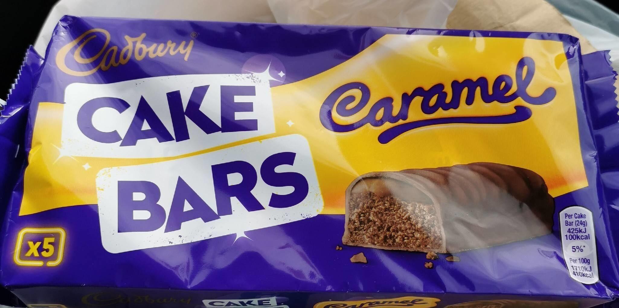 Cake bars caramel - Product - en