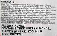 Mr Kipling 6 Cherry Bakewells - Ingredients