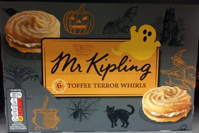 6 toffee terror whirls - Product