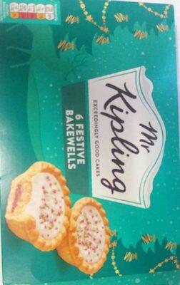 6 festive bakewells - Product - en