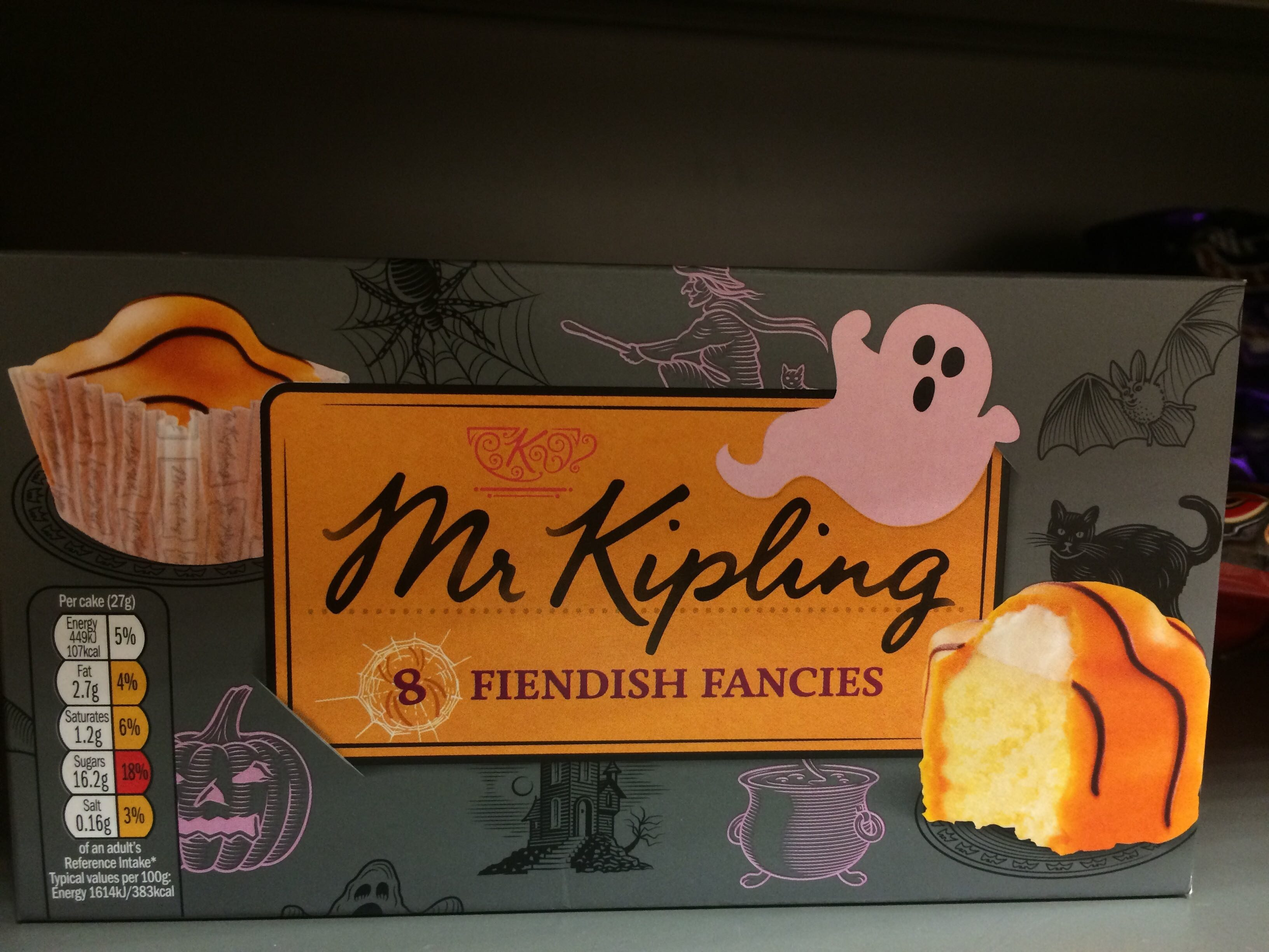 8 fiendish fancies - Produit - en
