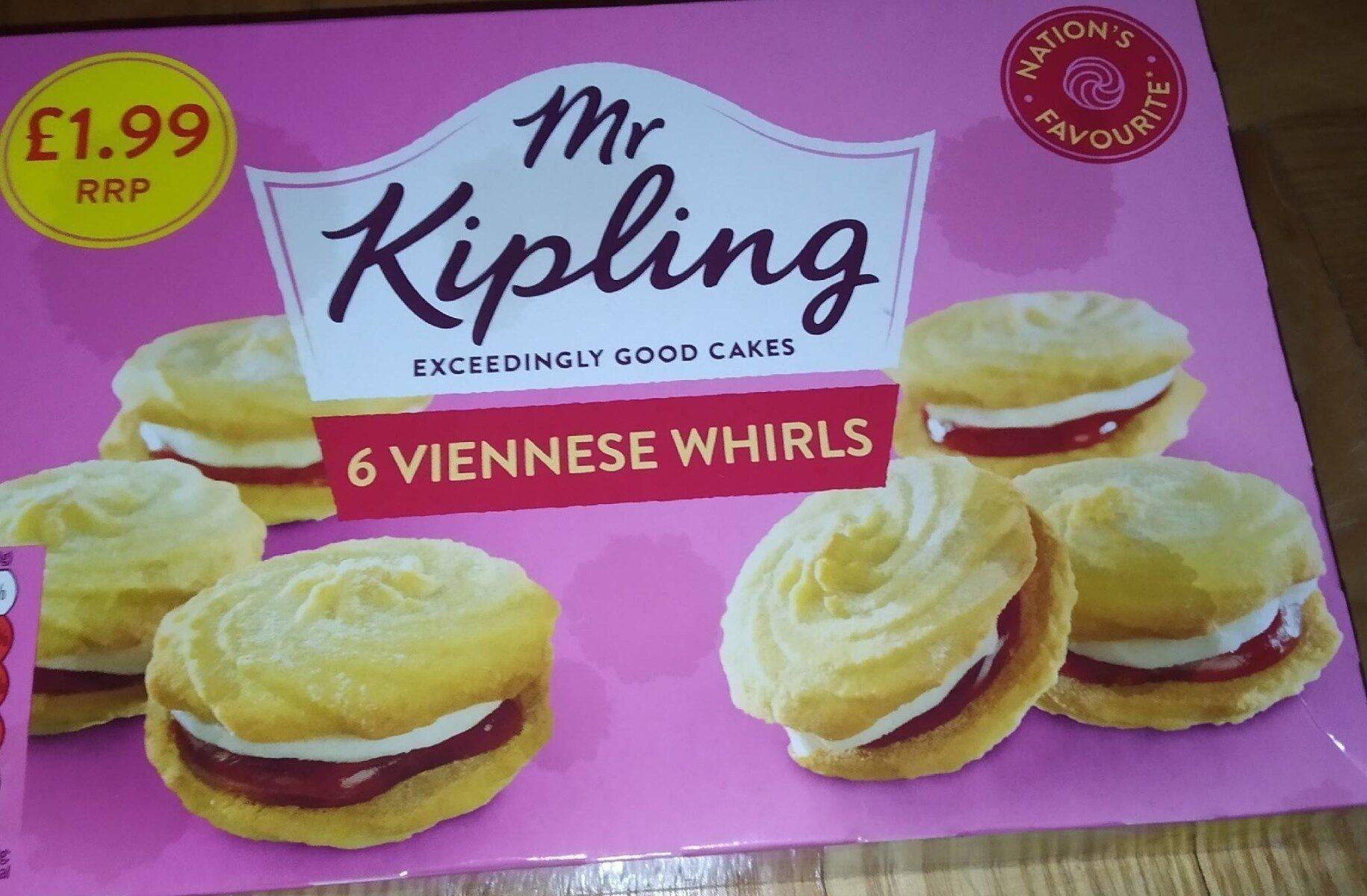Viennese whirls - Produktas - fr