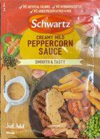 Creamy mild peppercorn sauce - Prodotto - en