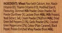 Creamy mild peppercorn sauce - Ingredienti - en