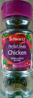 Schwartz Perfect Shake Chicken Herb and Spice Blend - Product