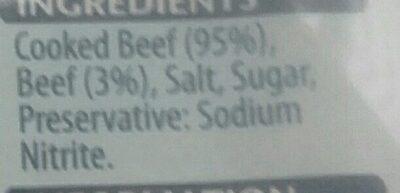 Lean corned beef - Ingredients - en