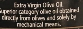 Extra Virgin Olive Oil - Ingredients