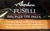Fusilli Bronze pasta - Product