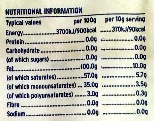Finest Beef Dripping - Nutrition facts - en