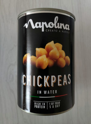 Chickpeas in water - Prodotto - en