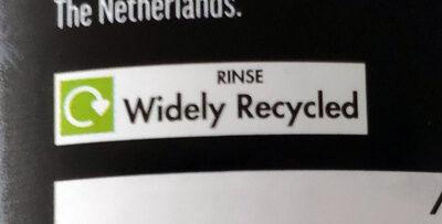 Chickpeas in water - Istruzioni per il riciclaggio e/o informazioni sull'imballaggio - en